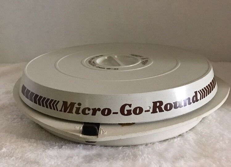 Vtg Nordic Ware Micro Go Round Microwave Turntable Spinner Wind Up Rotating Usa Ebay