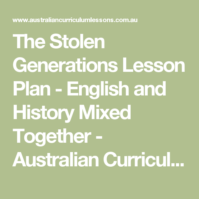 reparations for the stolen generations essay A stolen generations reparations scheme will offer payments to survivors without the need for a lengthy and arduous legal process and a $5 million stolen generations healing fund will seek to.