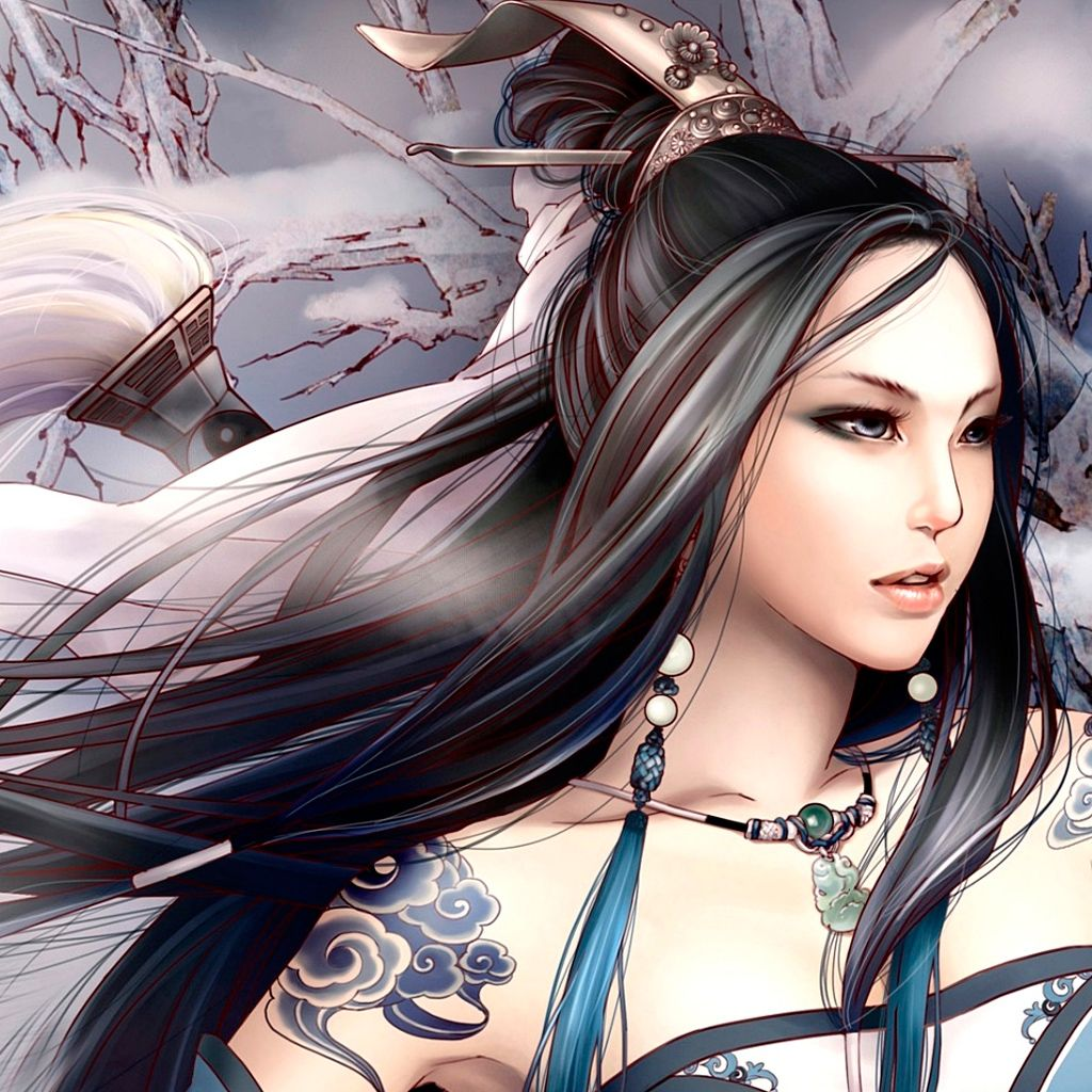 While live action certainly isn't going away, animation in videos is also on the rise, and not just for content aimed at kids. Japanese Girl iPad Wallpaper | Warrior girl, Fantasy girl ...