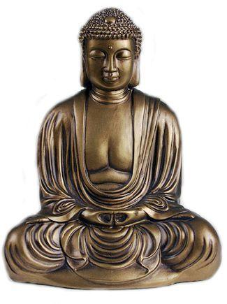 Japanese Buddha Statue Bronze Finish Statue Buddha Buddha Statue