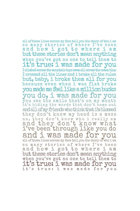 The Story Print, song lyrics print, Gift for husband, Gift for wife, song lyrics first dance anniver #excelwordaccessetc