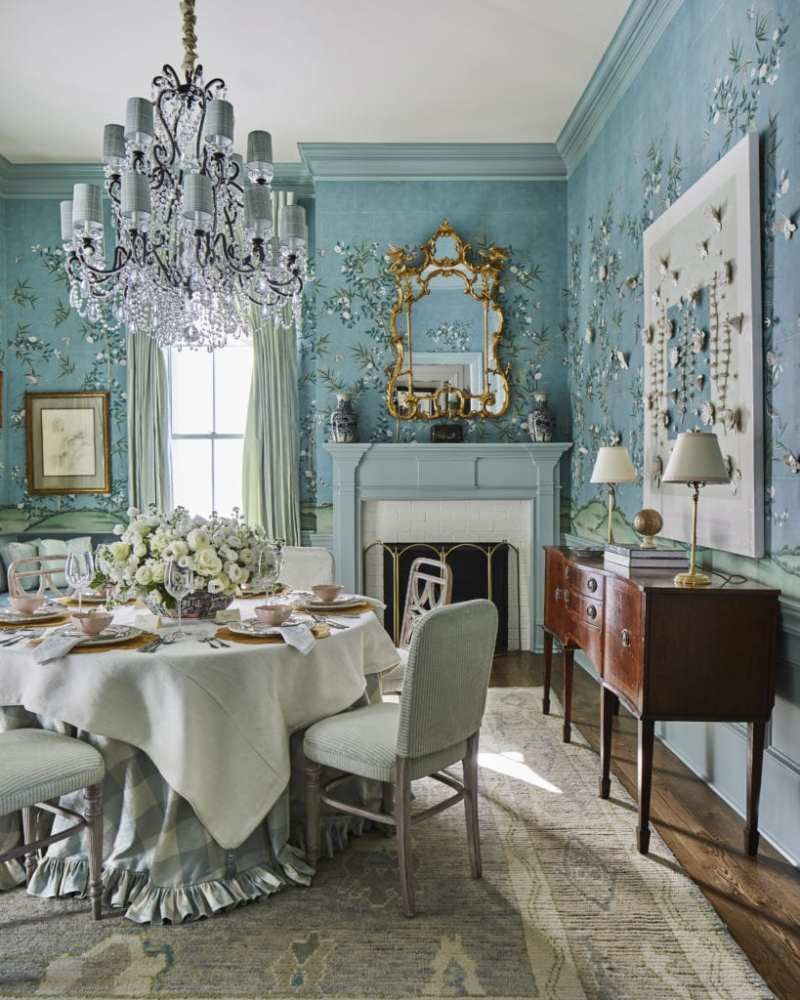 Becky Boyle S Southern Living Showcase The Glam Pad Di
