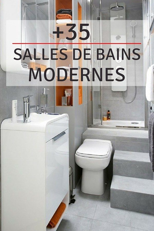 35 Salles de bains modernes (avec accessoires  shopping) Wall