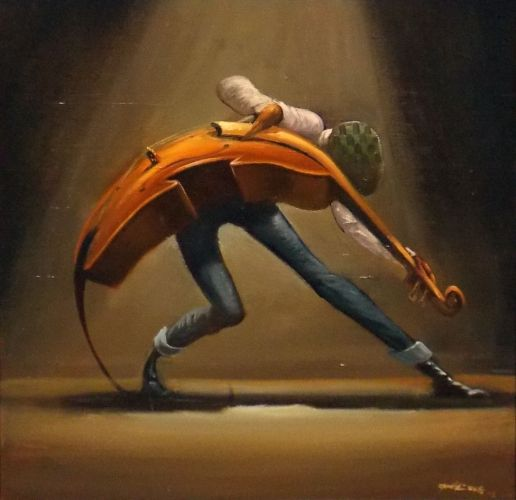 THE DANCE by Frank Morrison