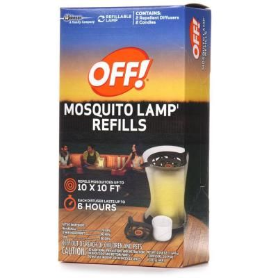 Off Mosquito Lamp Refill 2 Pack 661249 The Home Depot Mosquito Repellent Mosquito Pest Control