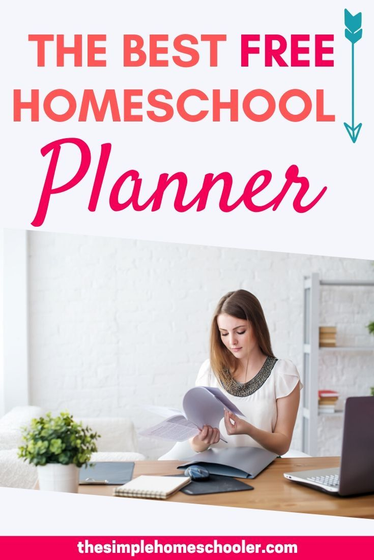 Free Homeschool Planner You will Actually Use