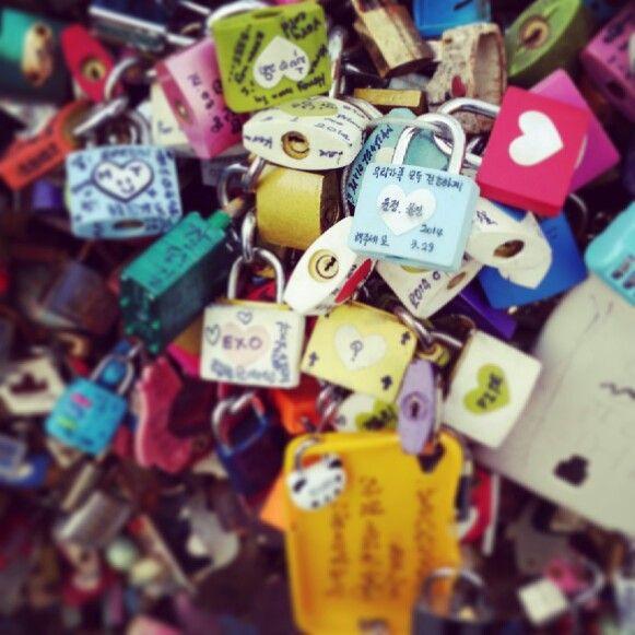 남산, 열쇠, 사랑