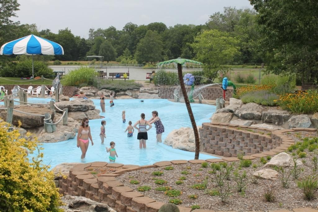 Check out the Little Mates Cove swim area at Twin Lakes