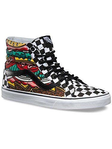 Vans SK8Hi Reissue Women US 85 Multi Color Skate Shoe ** For more information, visit image link.