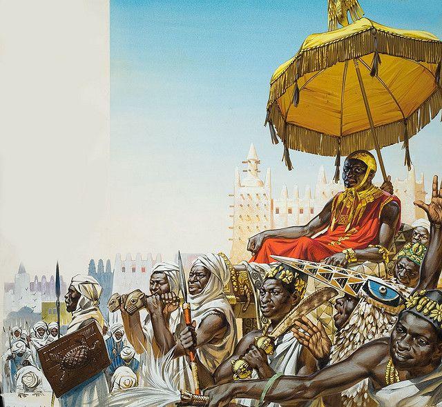 Emperor Mansa Musa of Mali c.1300s