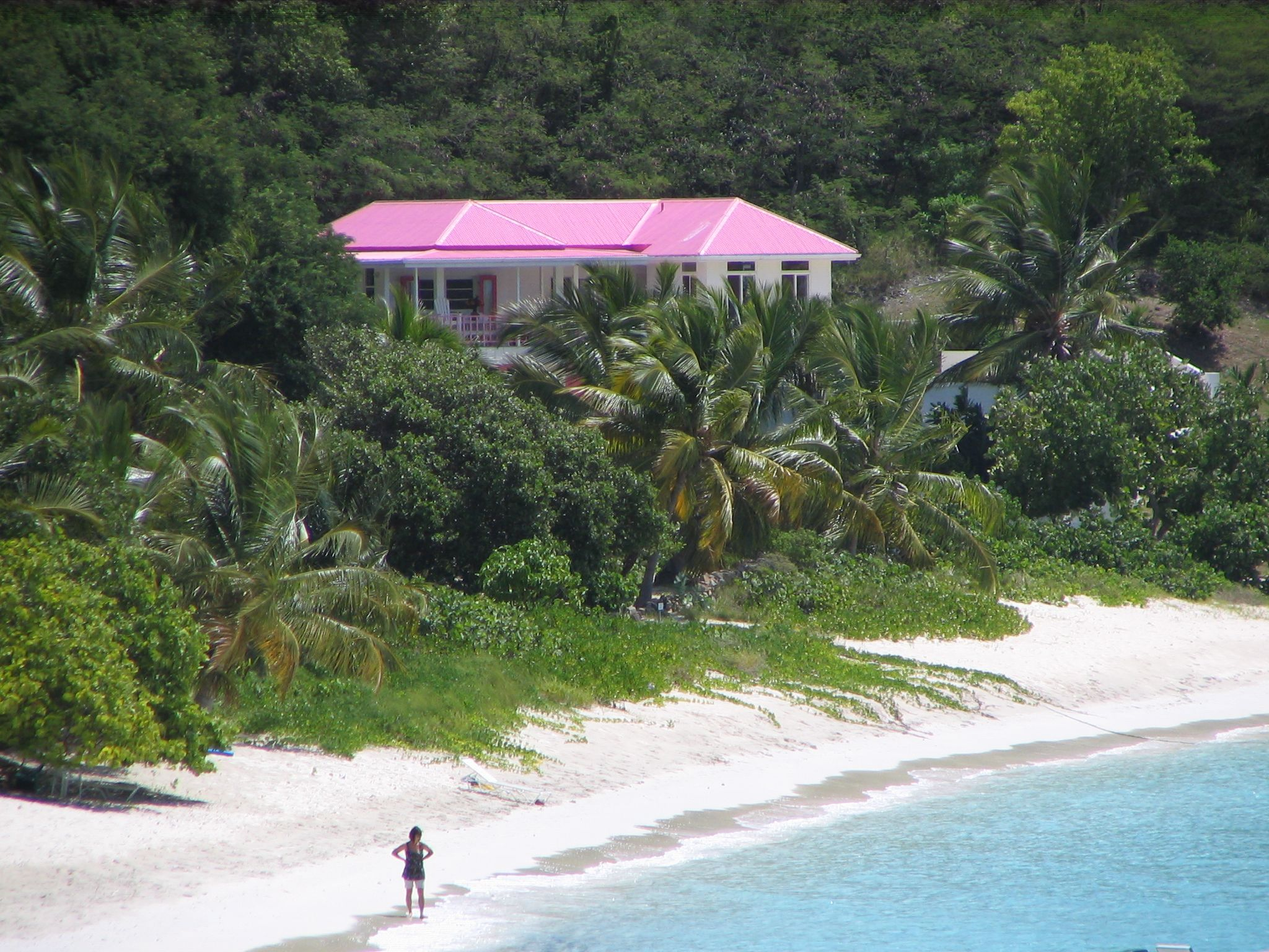 Pink House Jost Van Dyke Bvi Oh The Places You Ll Go