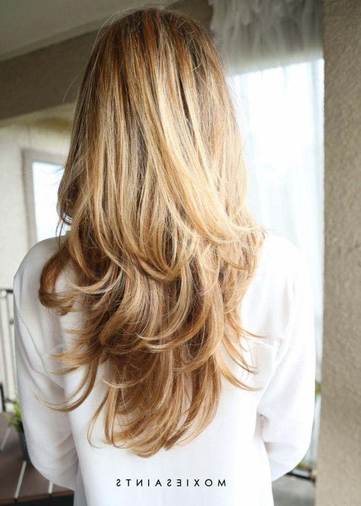 layered long blonde hair 1000 ideas