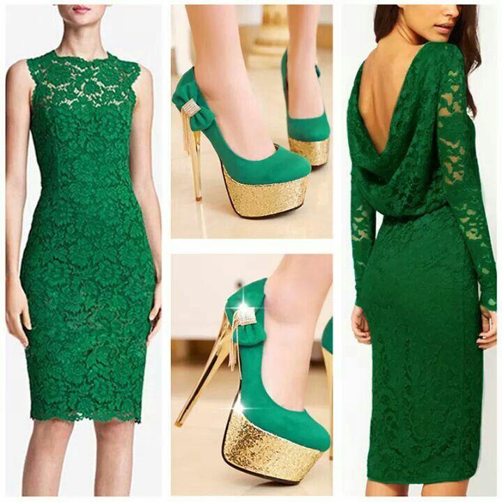 Verde Glamour Patrones Para Vestidos De Mujer Moda Estilo