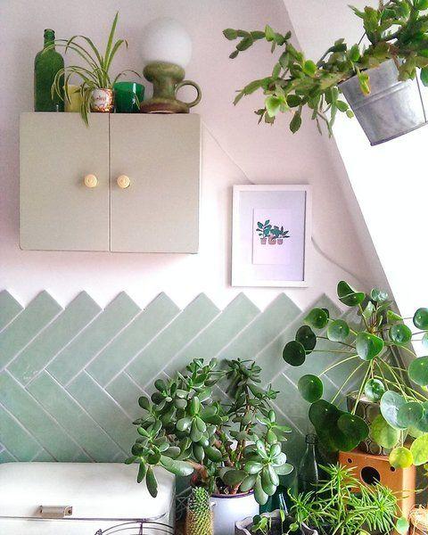 die sch nsten wohn und dekoideen aus dem januar zimmerpflanzen januar und sch ner wohnen. Black Bedroom Furniture Sets. Home Design Ideas