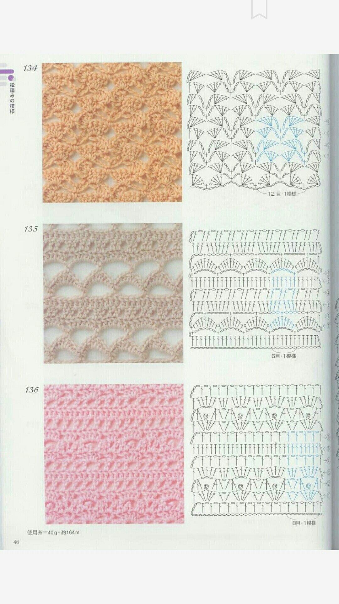 Pin de Maria Del Carmen Michini en patrones | Pinterest | Puntadas ...