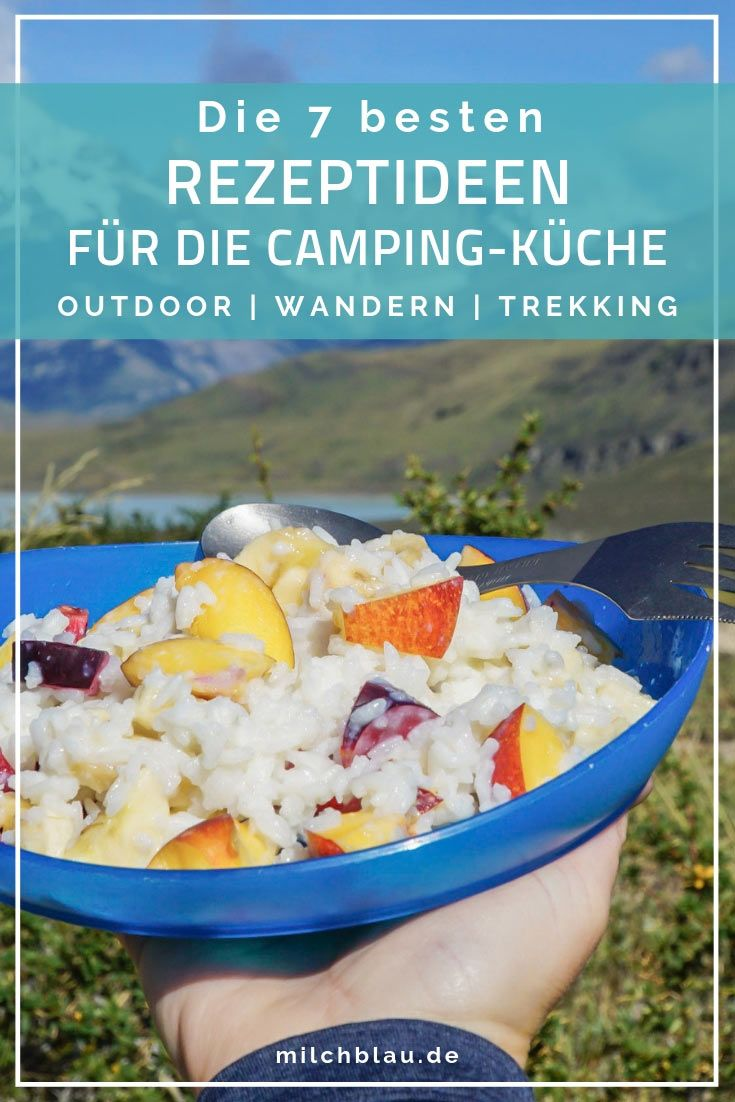Photo of Outdoor recipes – 7 delicious dishes for camping and trekking milk blue