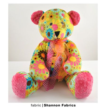 Sewing Pattern - Toy Pattern, Teddy Bear Pattern, Bear Toy Pattern ...