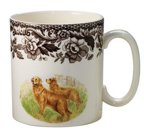 Spode Woodland Hunting Dogs Golden Retriever Mug Spode Https Www