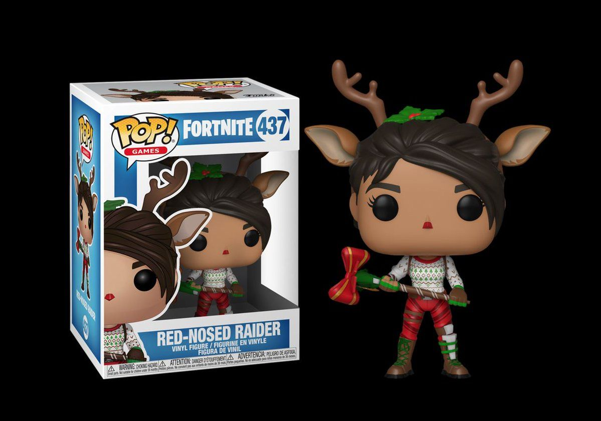 Details About In Hand Funko Pop Games Fortnite Red Nosed Raider