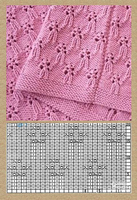 99) Одноклассники | wzory na druty i szydelko | Pinterest | Tejido ...