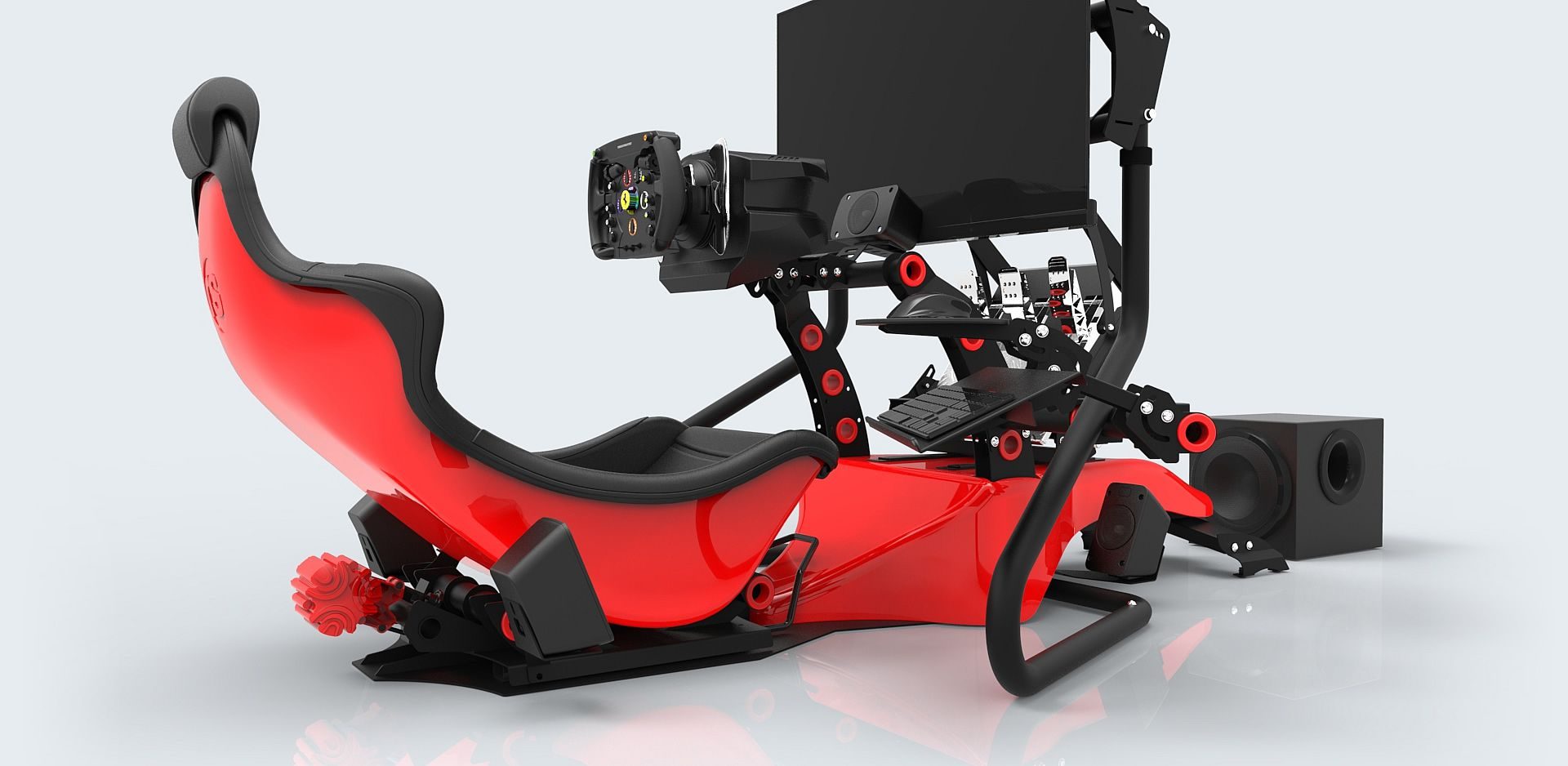 Rseat Rs Formula V2 Red Rseat Gaming Seats Cockpits And