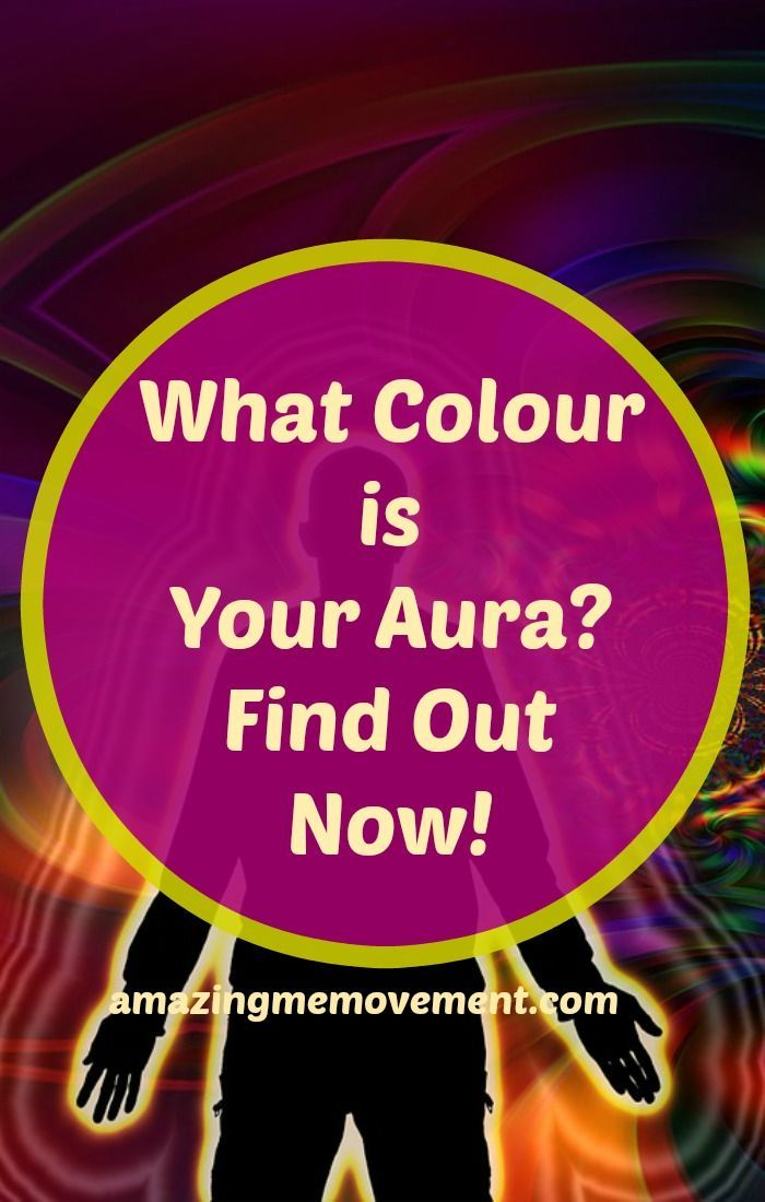 How do you know what colour your aura is