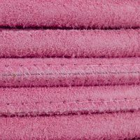 Round Stitched Suede, 2.5mm, Color - 807 Pink. #leather