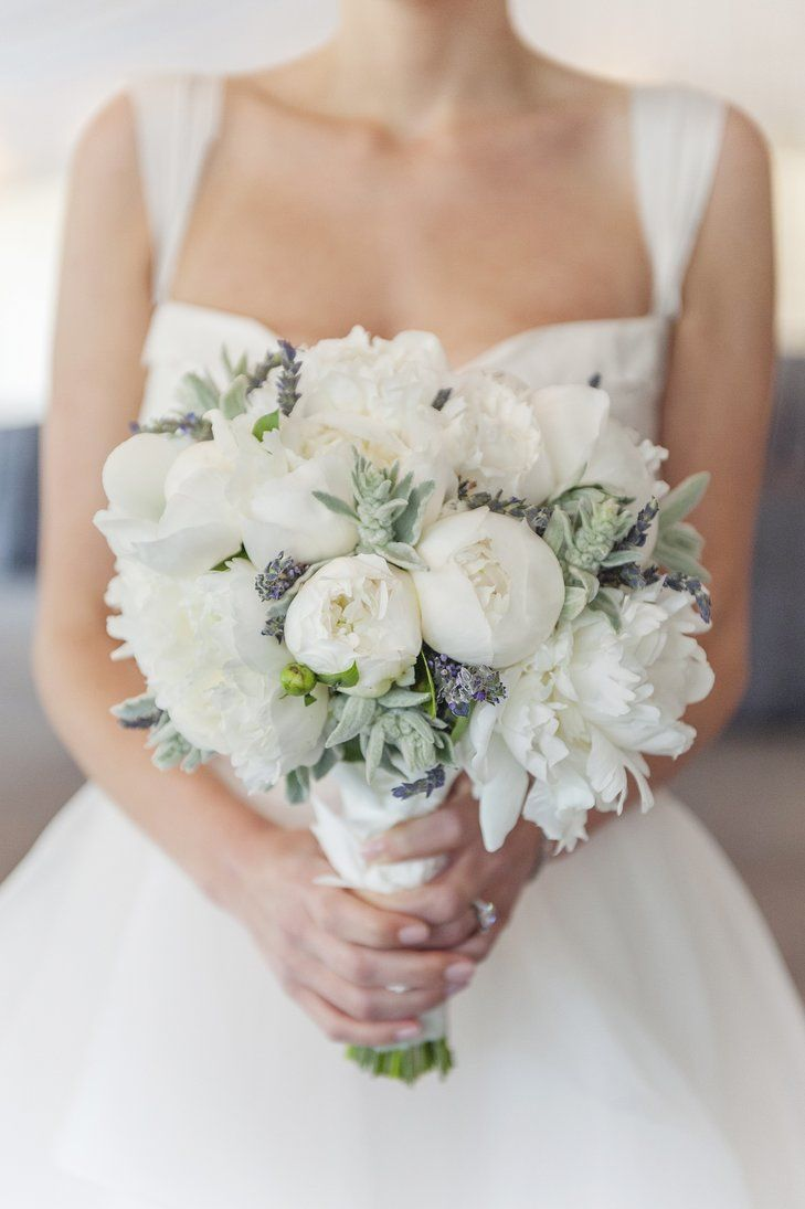 B5267d21 74a9 d828 1f49 a8efc468f118rs 729 one day3 pinterest beautiful white bridal bouquet with dusty miller and lavender cute splashes of lavender izmirmasajfo