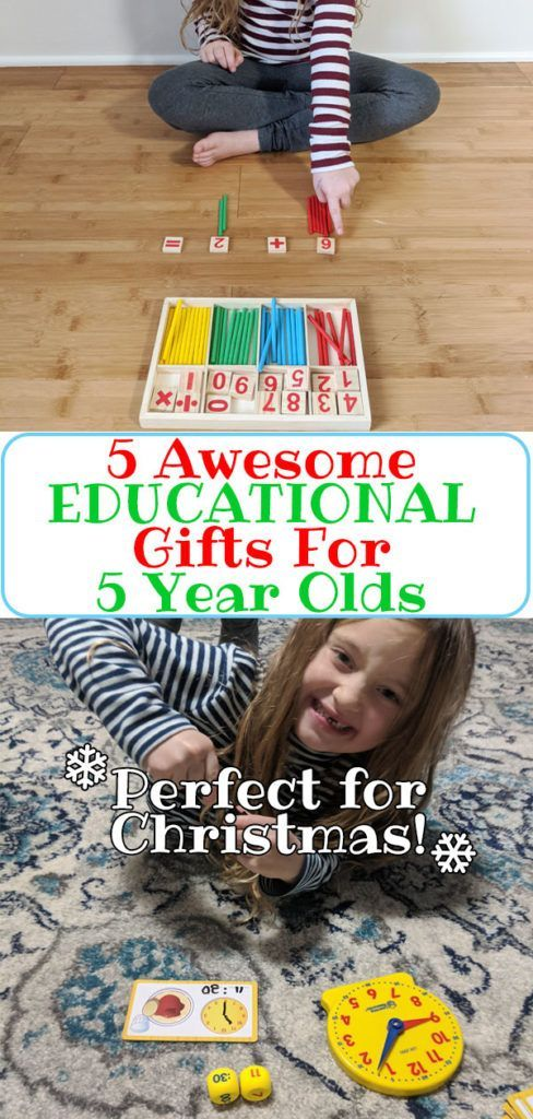 5 Awesome Educational Gifts For 5 Year Olds - A list of ...
