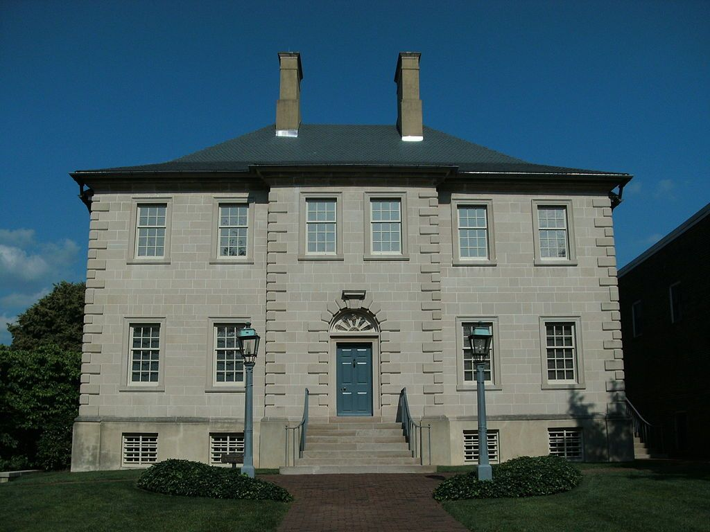 Carlyle House Is An Historic Mansion In Alexandria Virginia