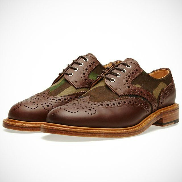 2 tone Camo Brogue byarc mc nairy