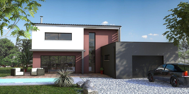 Maison moderne nantes 44