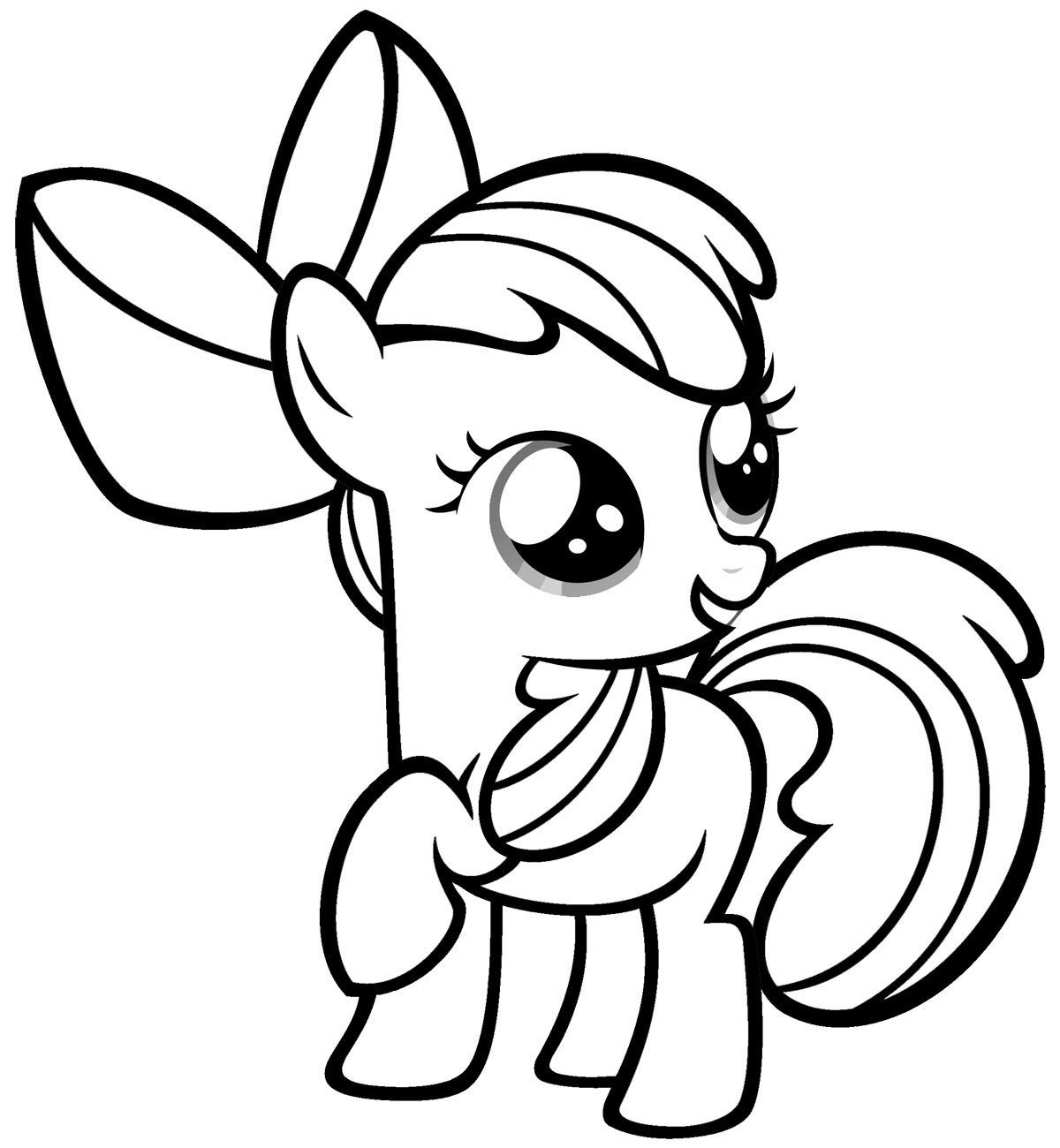 my little pony coloring pages free # 7