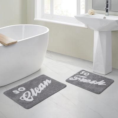 So Fresh Clean 2 Pc Bath Rug Set