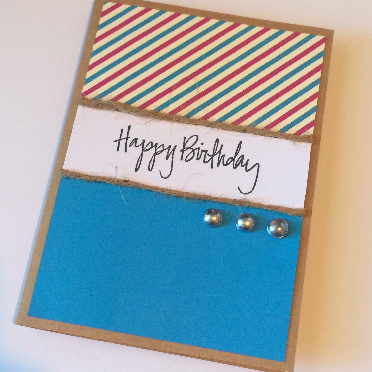 Handmade greeting card by simply sarah belle on etsy papercraft