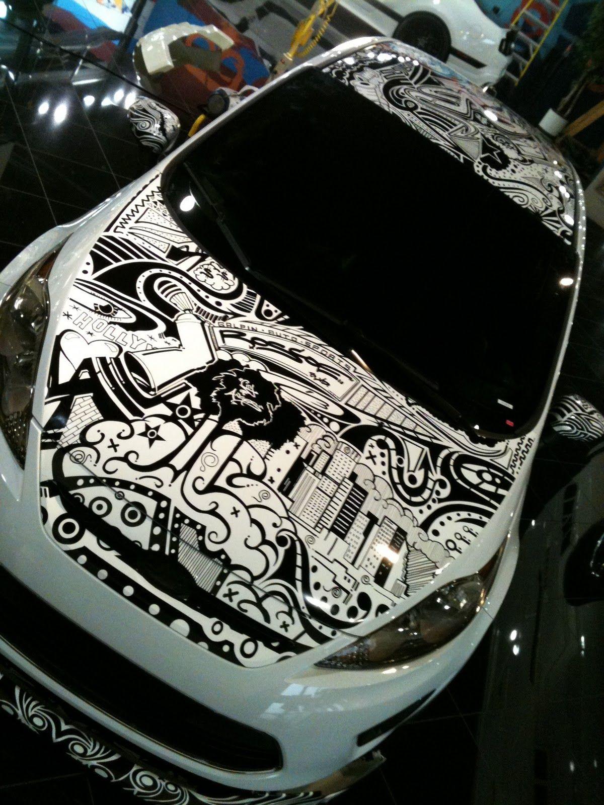 Sharpie Art Custom Car Decals Car Art [ 1600 x 1200 Pixel ]