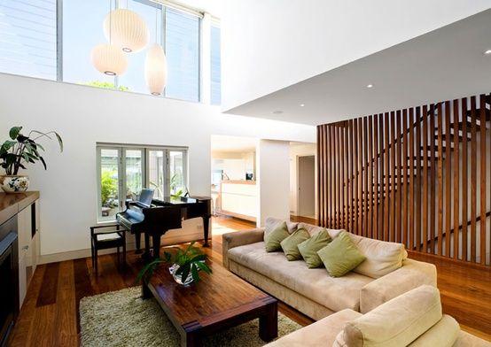Vertical Wooden Slats Wall