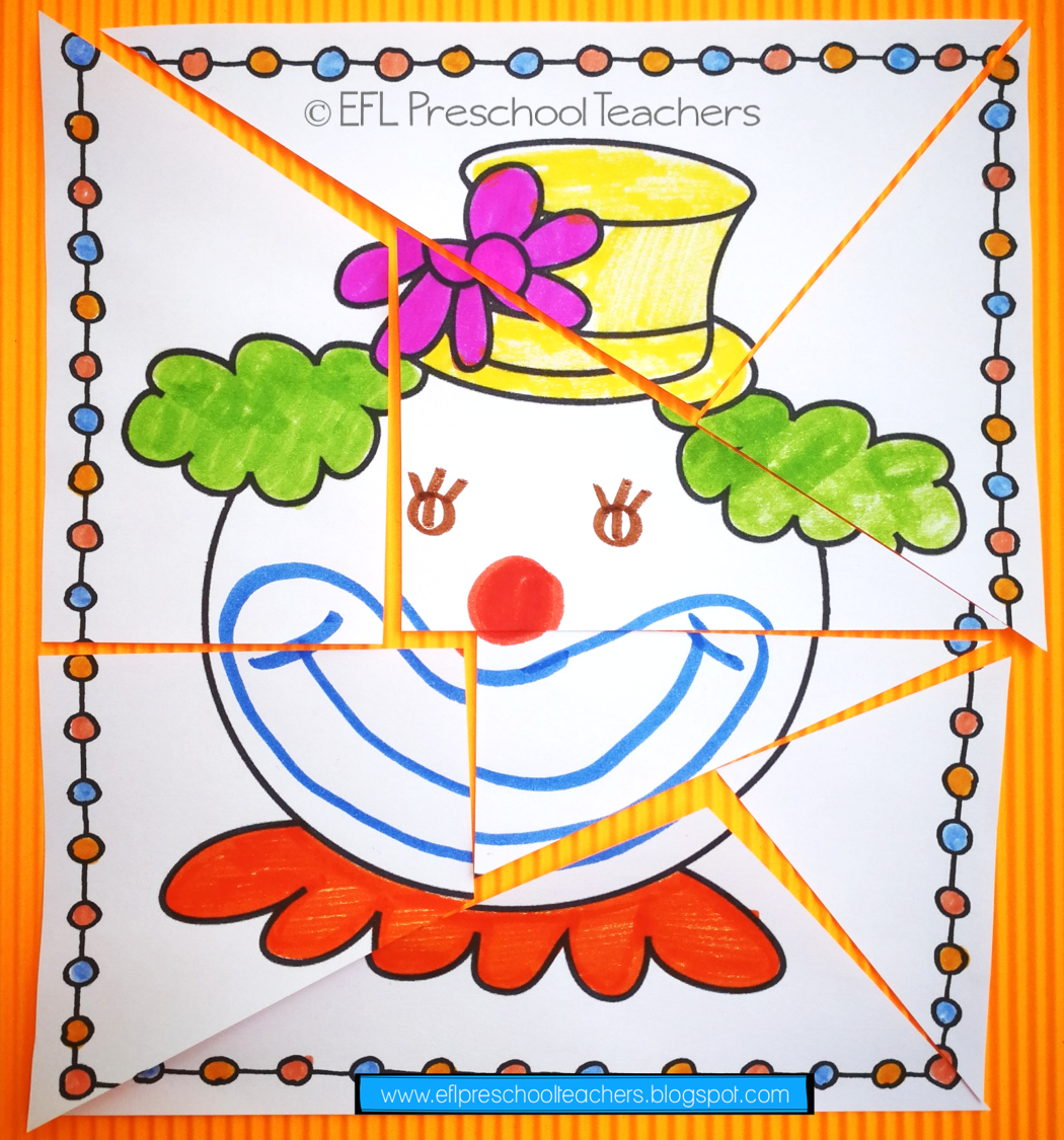 Circus Unit For The Preschool Ell