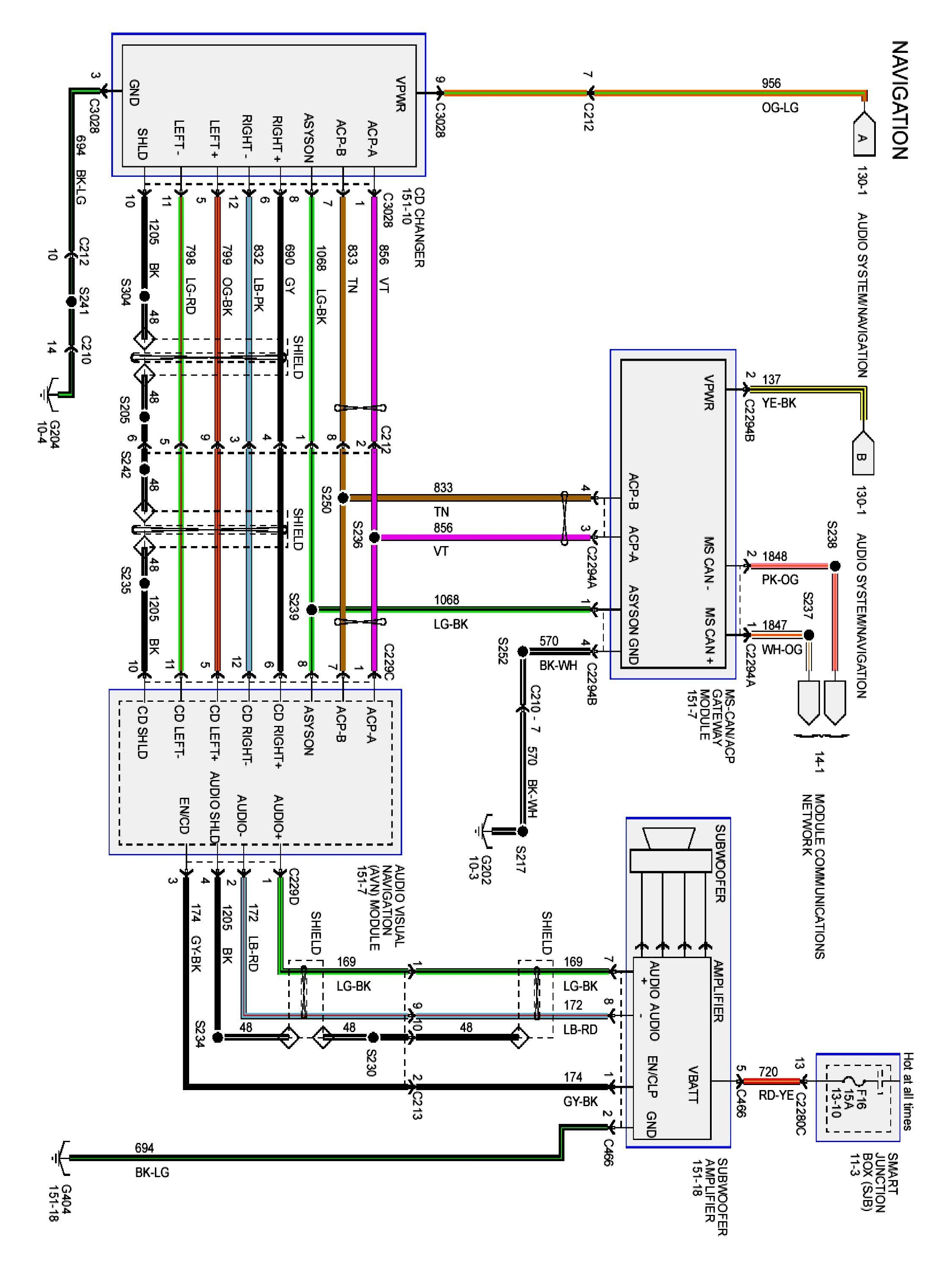 Toyota Jbl Amplifier Wiring Diagram | Ford expedition, Electrical ... ford wire harness color code Pinterest