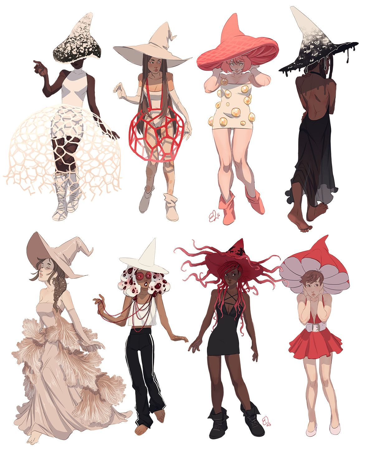 They Were Made By Someone As Witches But For Flower Kingdom They