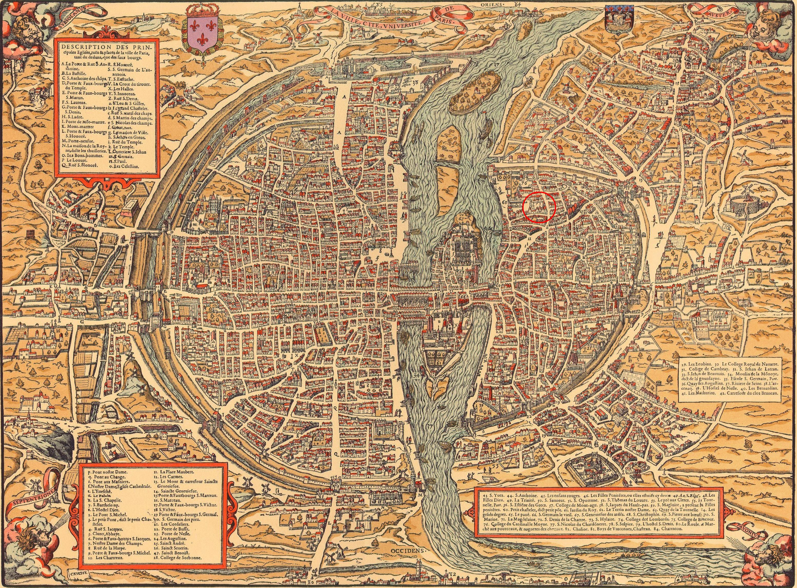 Old Maps Of Paris 360 1615 Royals Europe Old Maps France Map