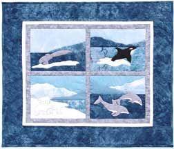 Patriotic Quilt Pattern, Landscape Quilt Pattern, Dolphin Quilt ... : dolphin quilt - Adamdwight.com