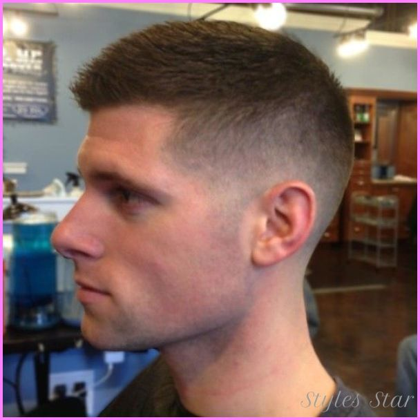 cool medium fade haircut military mens cuts in 2019