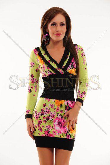 0dddc8a04f Zöld My77 Flowers Ruha | Cipő Ruha Kiegészítő | Style, Fashion és ...