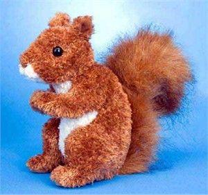 Squirrel Plush Stuffed Animal 6 Inch  omg i want him hes only like 10 bucks