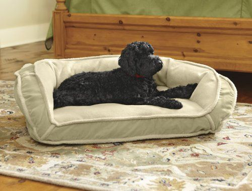 Orvis Fleecelock Deep Dish Dog Bed Cover / X-large, Tan, - http://www.thepuppy.org/orvis-fleecelock-deep-dish-dog-bed-cover-x-large-tan/