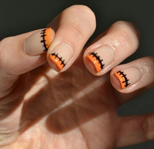 Explore Cute Halloween Nails, Halloween Ideas and more! - Halloween Design Nails Dress-up ♥ Pinterest