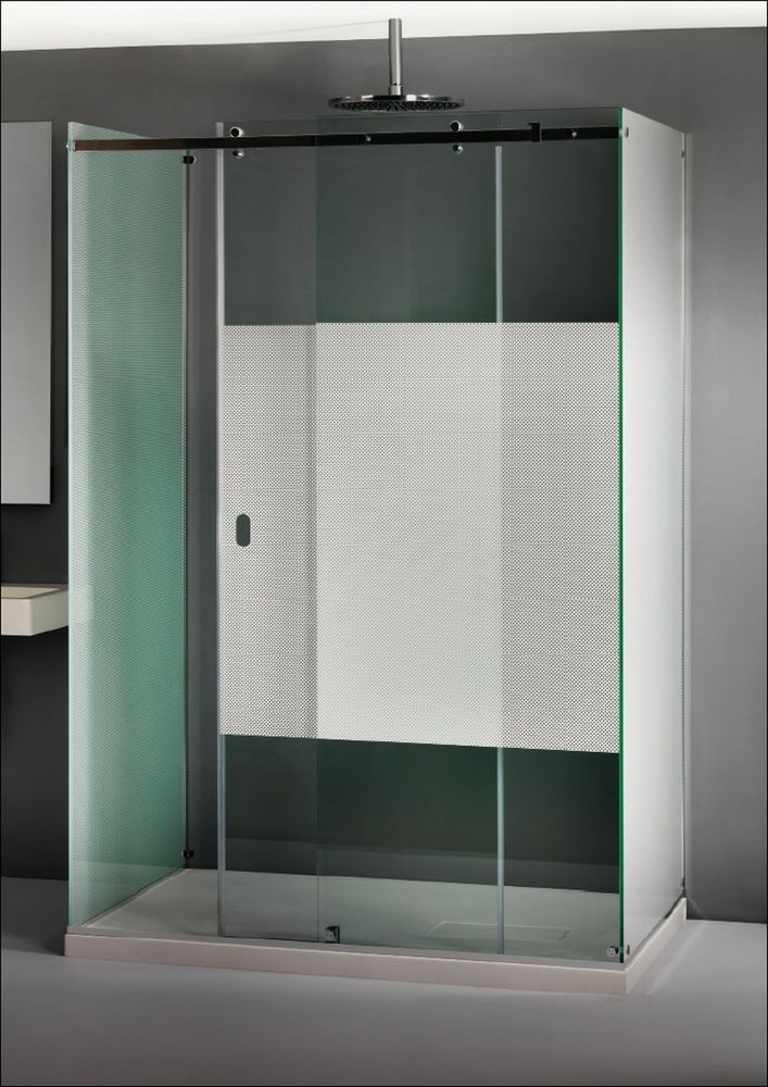 The Shower Lab Arum 32 Three Sided Enclosure with Sliding Door | The ...