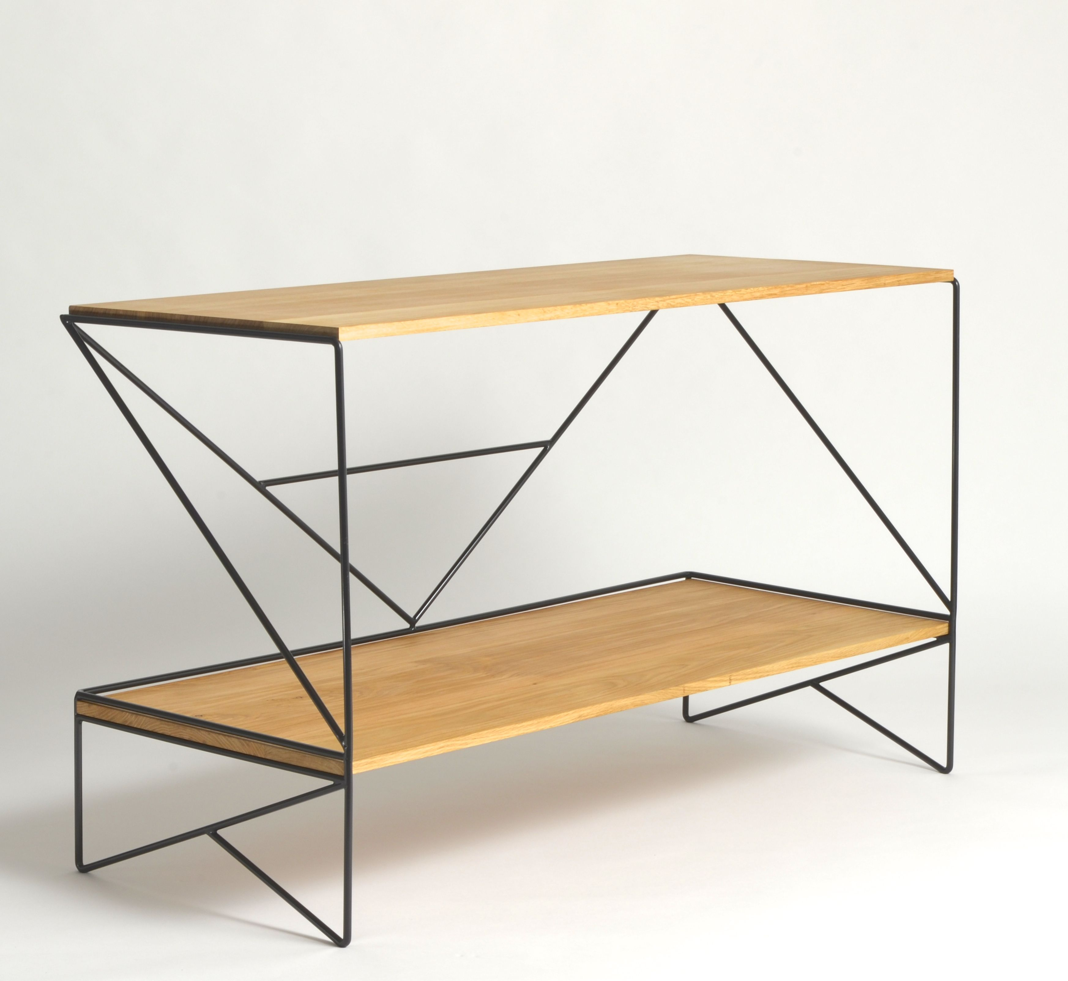 Geometry Sideboard, in solid oak and steel, by Ed Nell, BA 3D Design ...