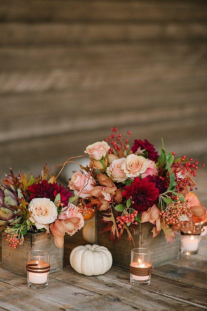27 Incredible Ideas For Fall Wedding Decor Pumpkin